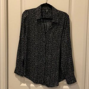 Mossimo B&W button down